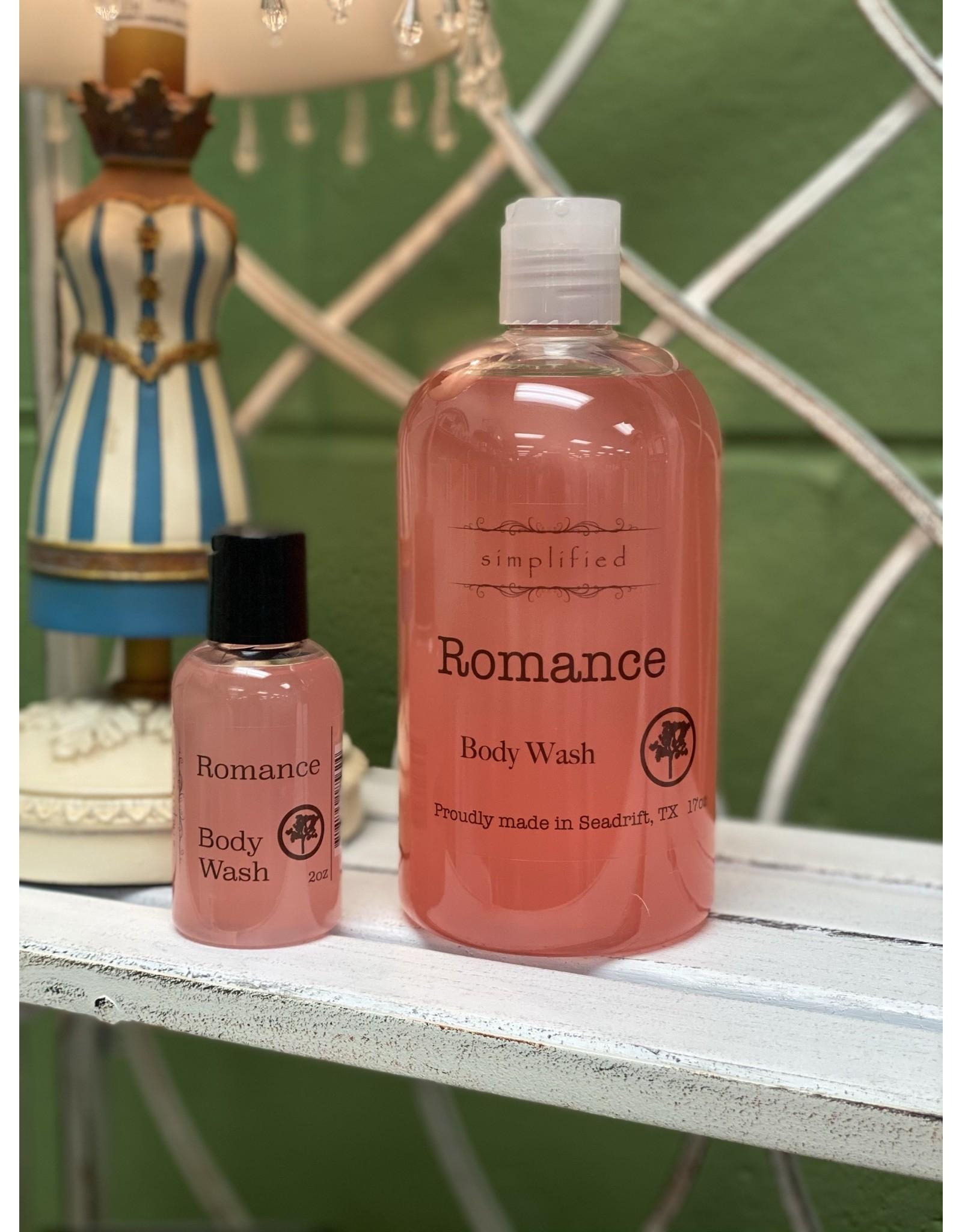 Romance Body Wash 2oz