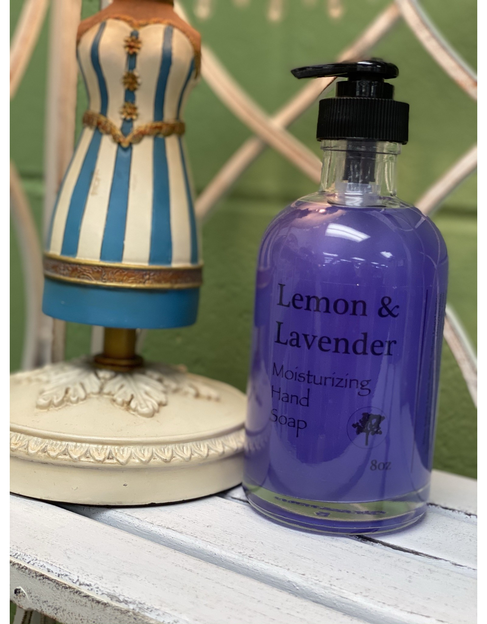 Lemon & Lavender Moisturizing Hand Soap 8oz