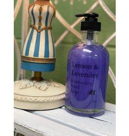 Lemon & Lavender Moisturizing Hand Soap 8oz
