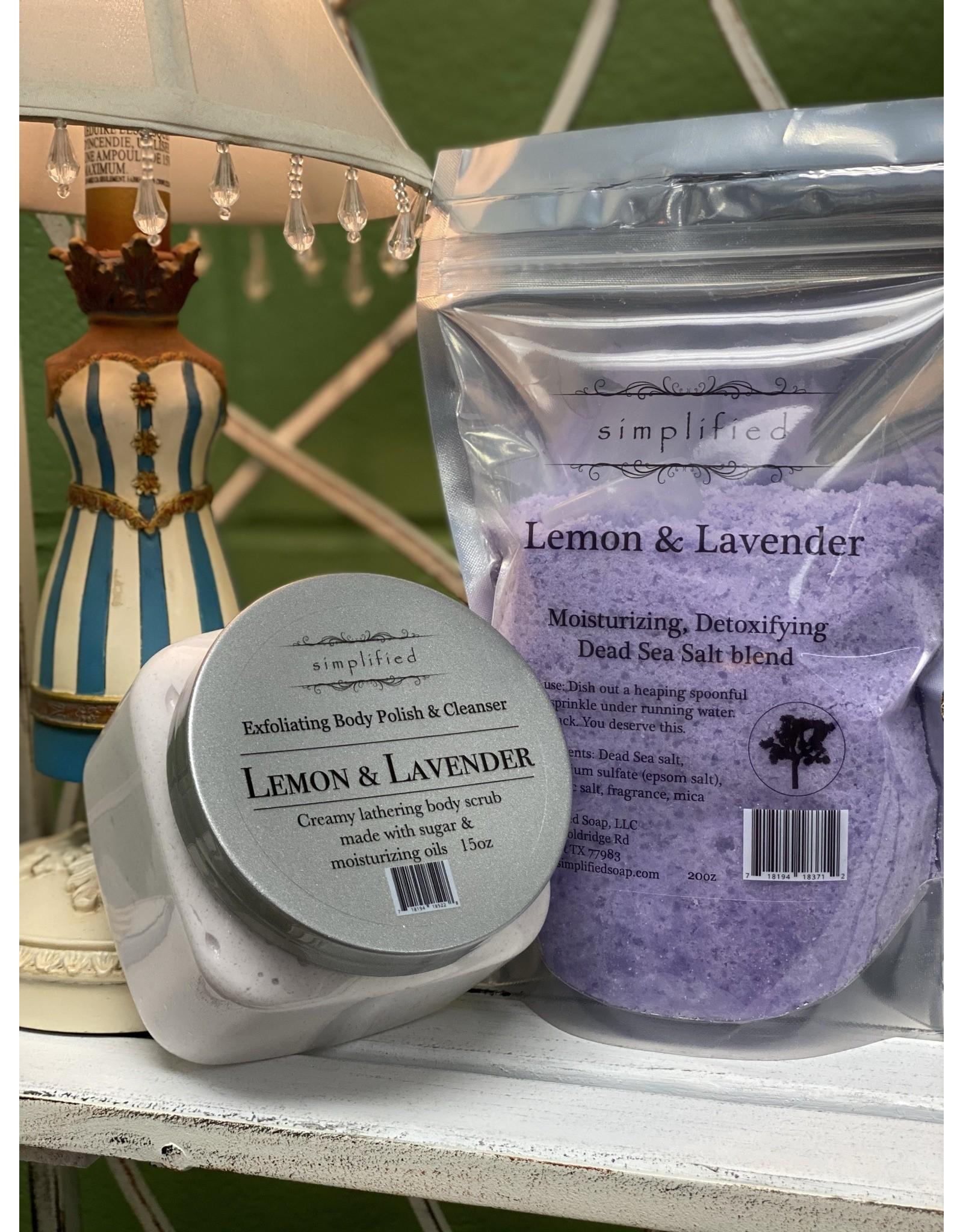 Lemon & Lavender Dead Sea Salt Blend