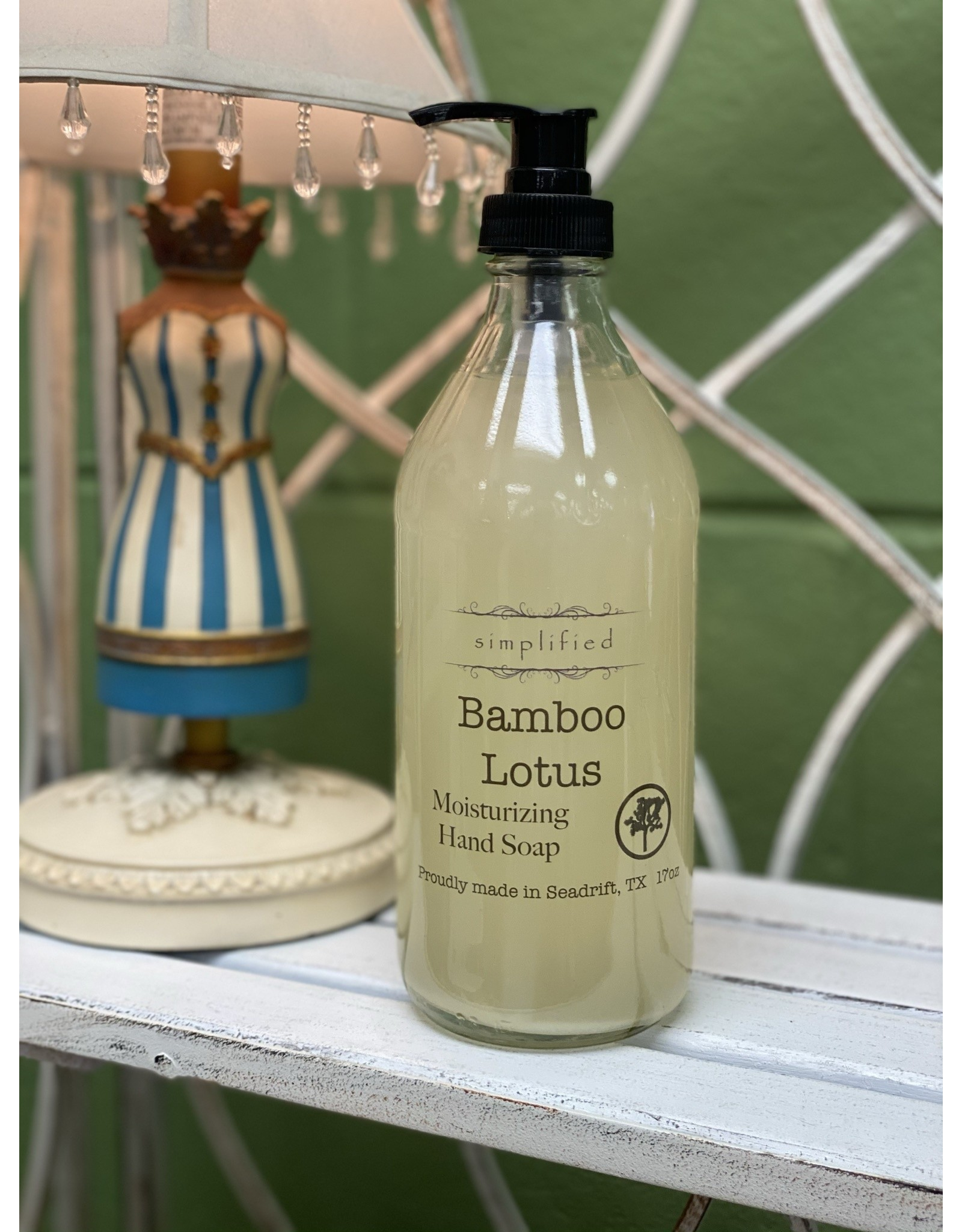 Bamboo Lotus Moisturizing Hand Soap 17oz