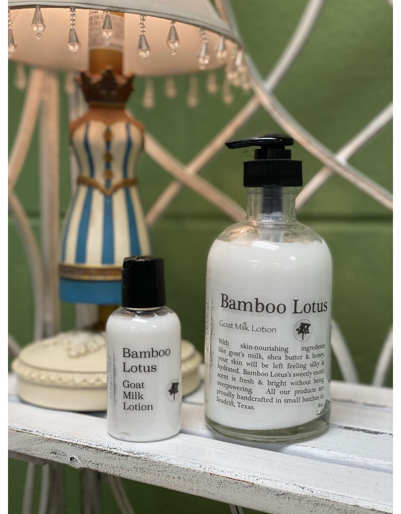 Bamboo Lotus Goat Milk Lotion 8oz
