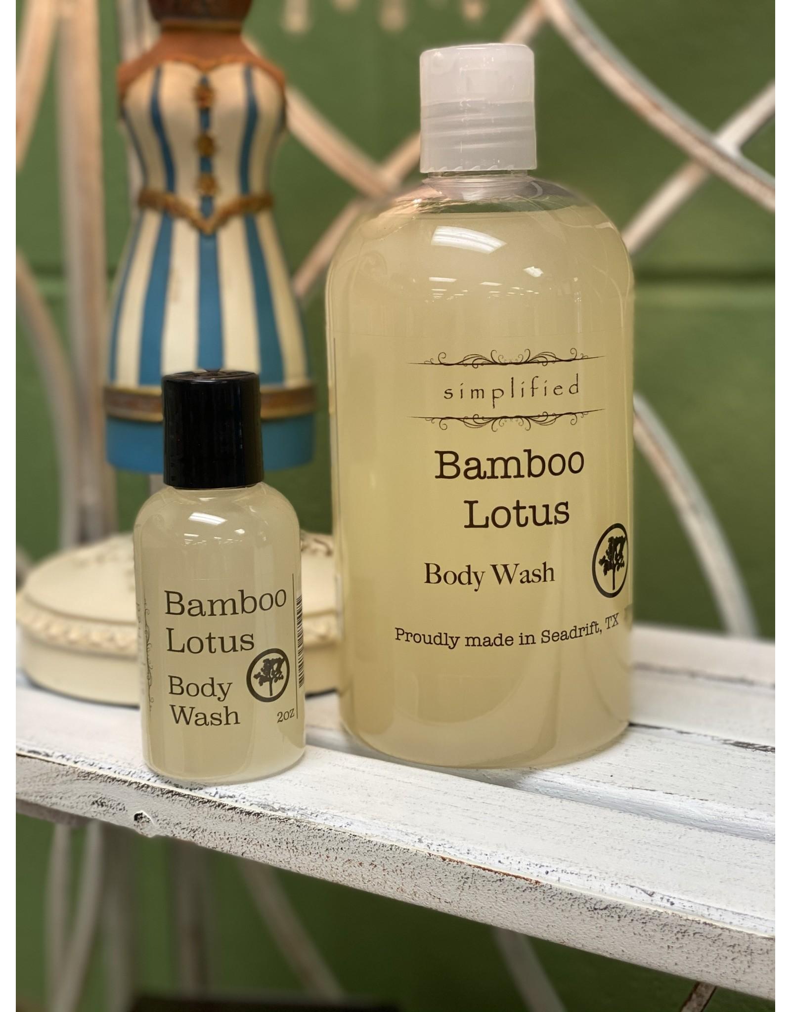 Bamboo Lotus Body Wash 2oz