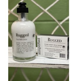 Rugged Goat Milk Lotion 8oz