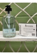 Rugged Moisturizing Hand Soap 8oz
