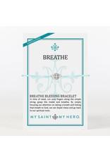 MSMH Breathe Blessing Bracelet Mint/Silver