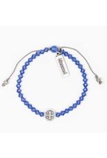 MSMH Birthday Blessing Bracelet- September Silver