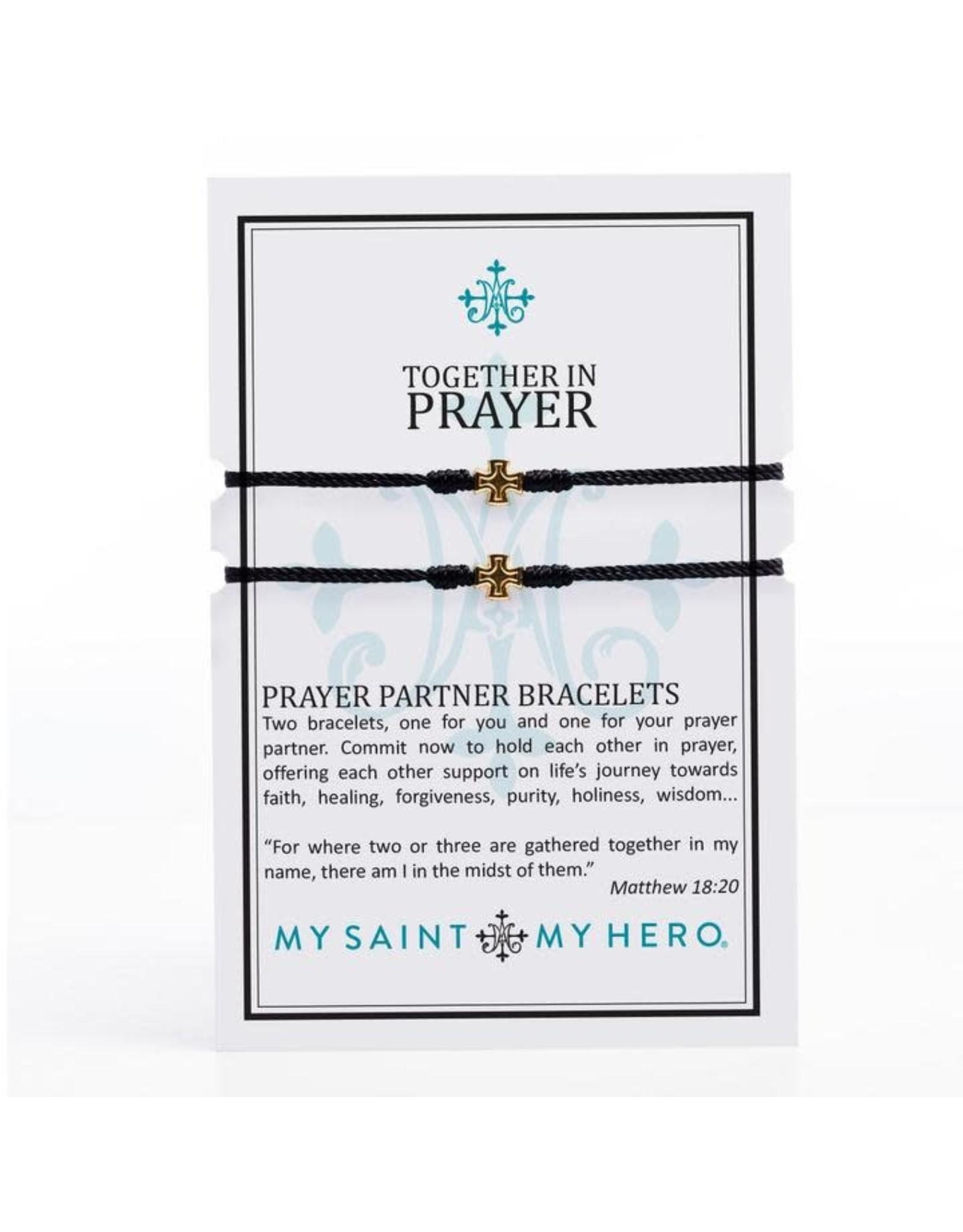 MSMH Prayer Partner Bracelets Black/Gold