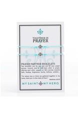 MSMH Prayer Partner Bracelets Mint/Silver