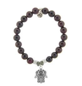 Hand of God Garnet Bracelet