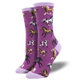 Socks Joy Ride Purple Womens