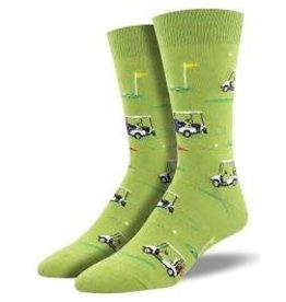 Socks Putting Around Green Mens