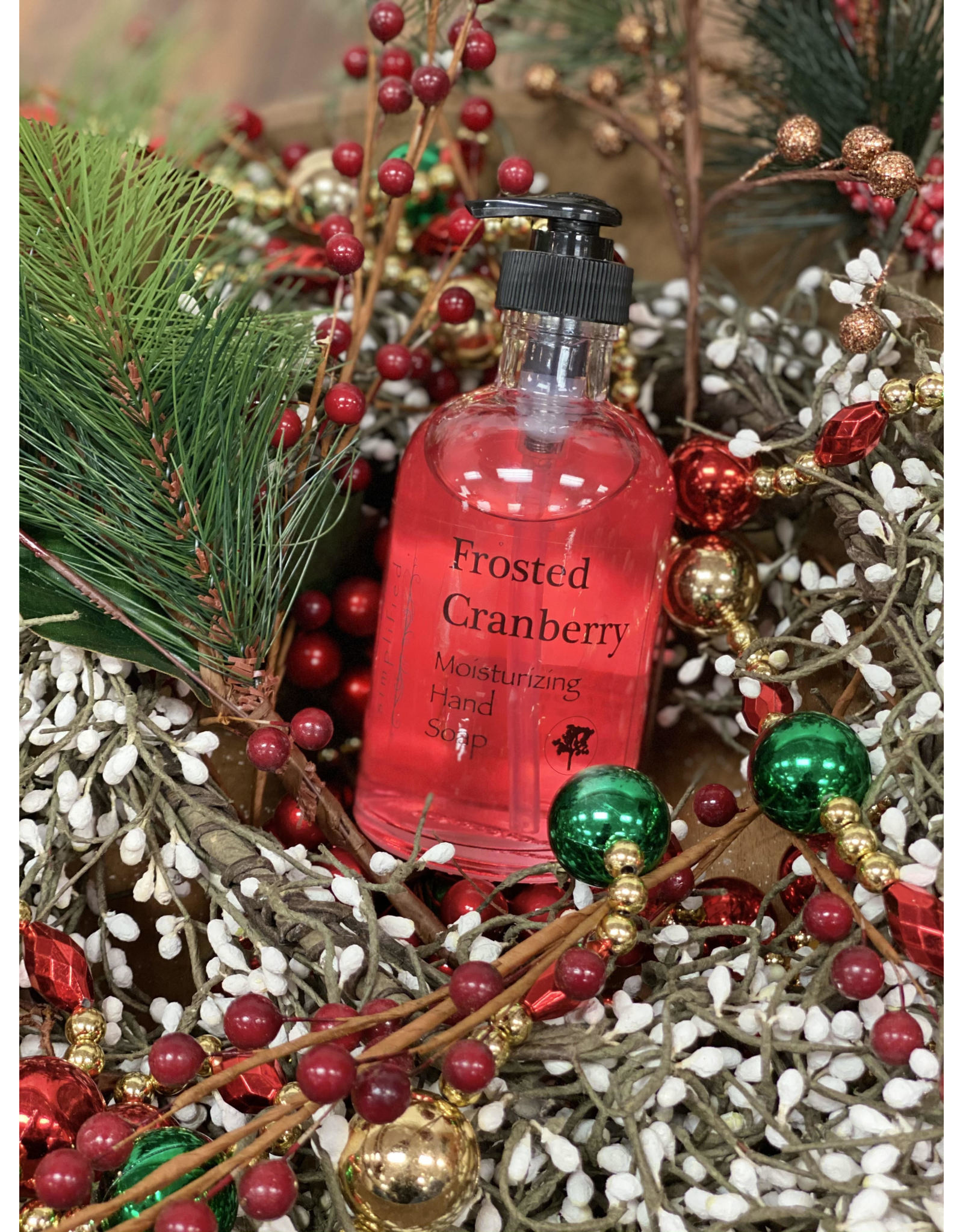 Frosted Cranberry 8oz Hand Soap