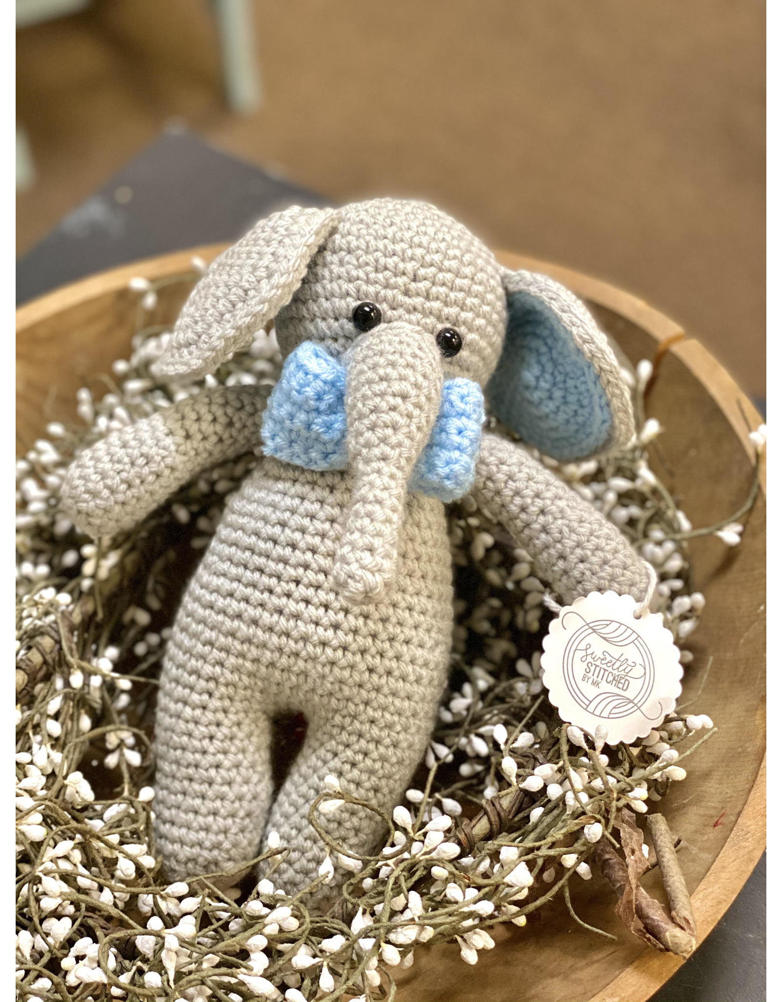 Sweetly Stitched Elephant