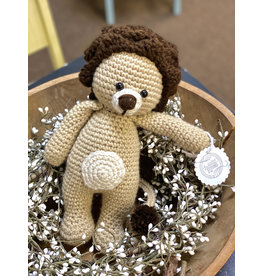 Sweetly Stitched Lion