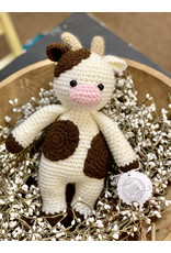 Sweetly Stitched Cow