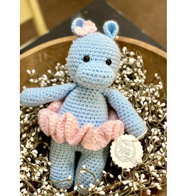 Sweetly Stitched Ballerina Hippo