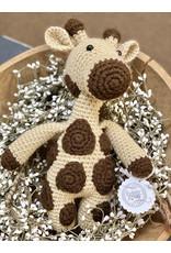 Sweetly Stitched Giraffe
