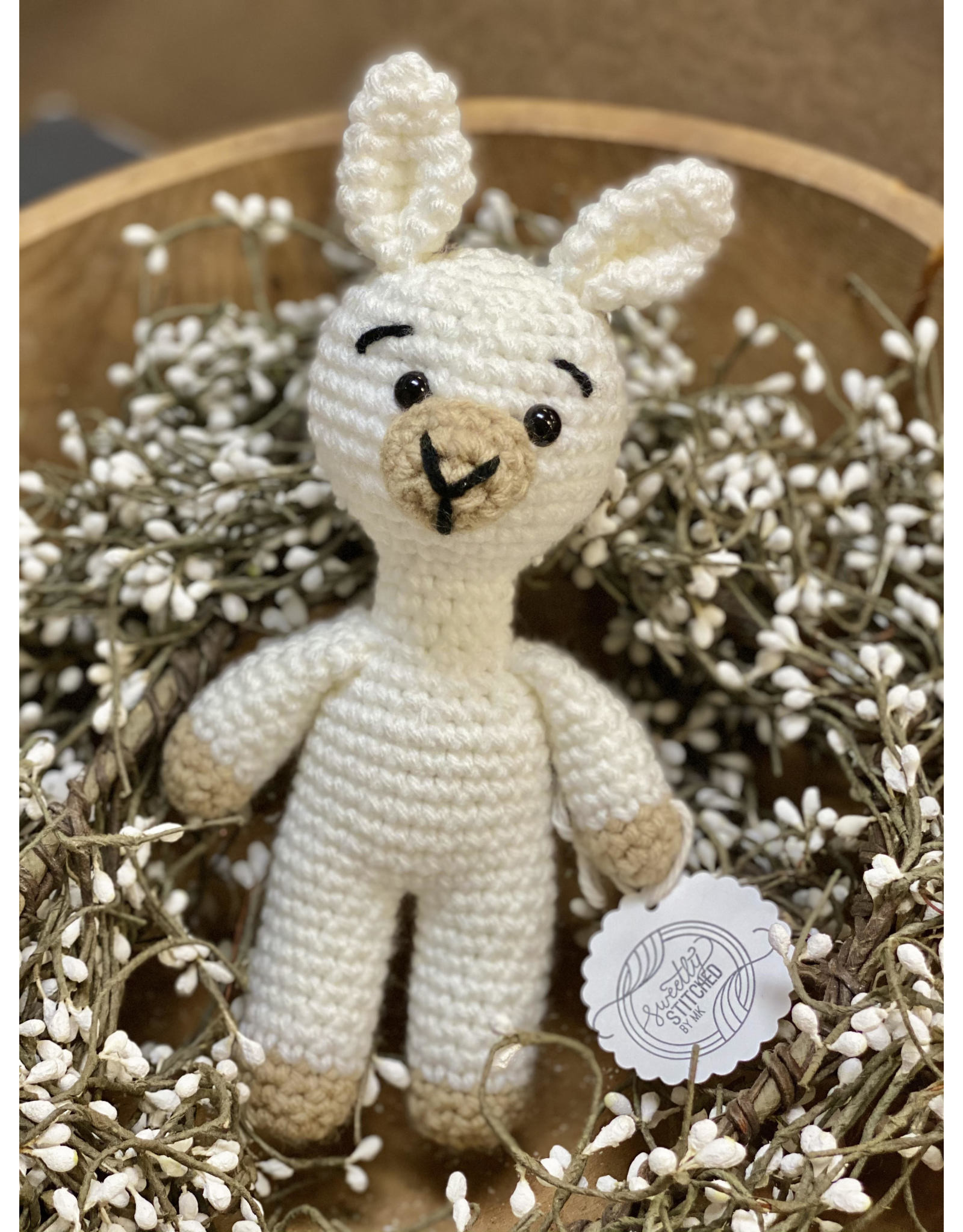 Sweetly Stitched Boy Llama