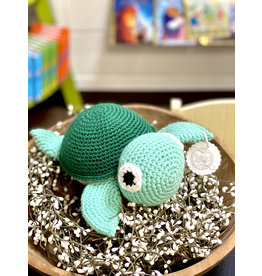 Sweetly Stitched Turtle