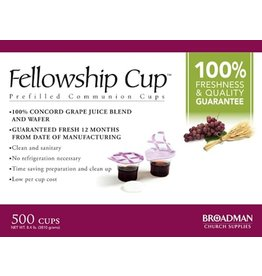 Communion PreFilled Cup/Wafer Qty 500