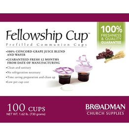 Communion Prefilled Cup/Wafer Qty 100