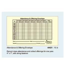 Attendance And Offering Envelopes
