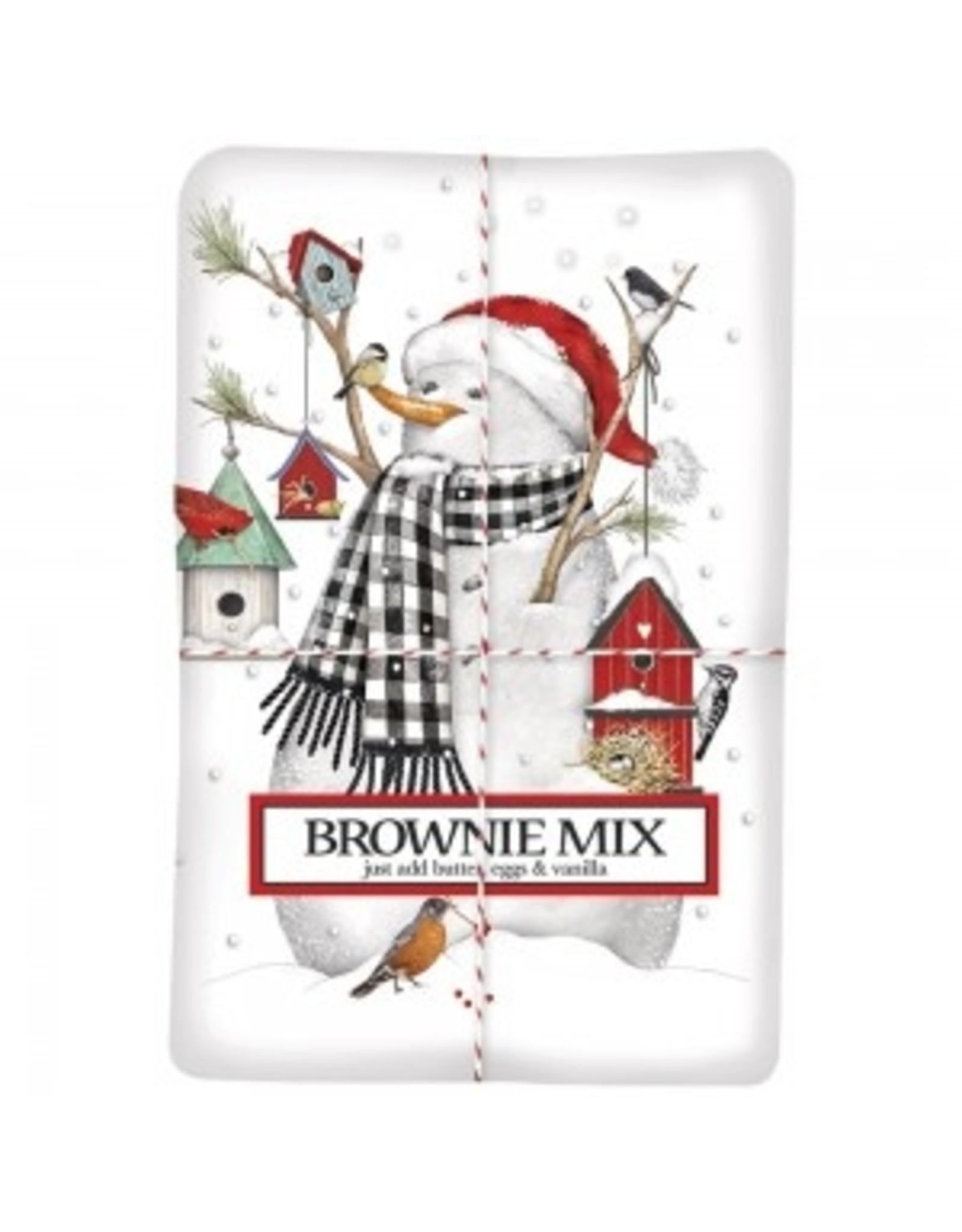 Mary Lake-Thompson Birdhouse Snowman Brownie Mix/Towel