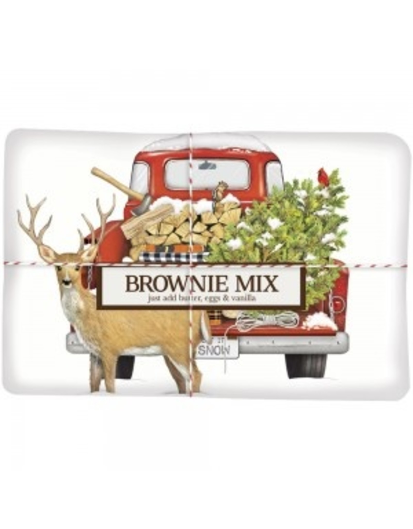 Mary Lake-Thompson Firewood Truck Brownie Mix/Towel