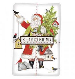 Mary Lake-Thompson Birdhouse Santa Sugar Cookie Mix/Towel