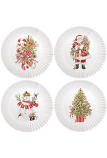 Mary Lake-Thompson Melamine Small Gingerbread Candy Canes- Set of 4