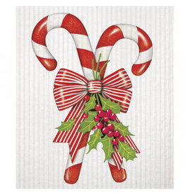 Mary Lake-Thompson Holiday Kitchen Sponge Cloth - Candy Cane