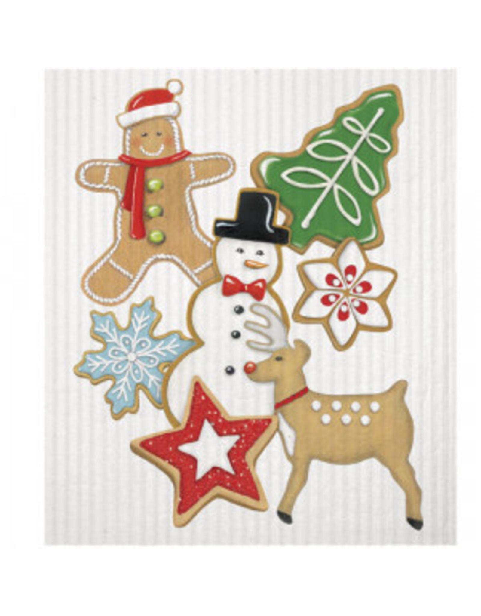 Mary Lake-Thompson Holiday Kitchen Sponge Cloth - Christmas Cookies