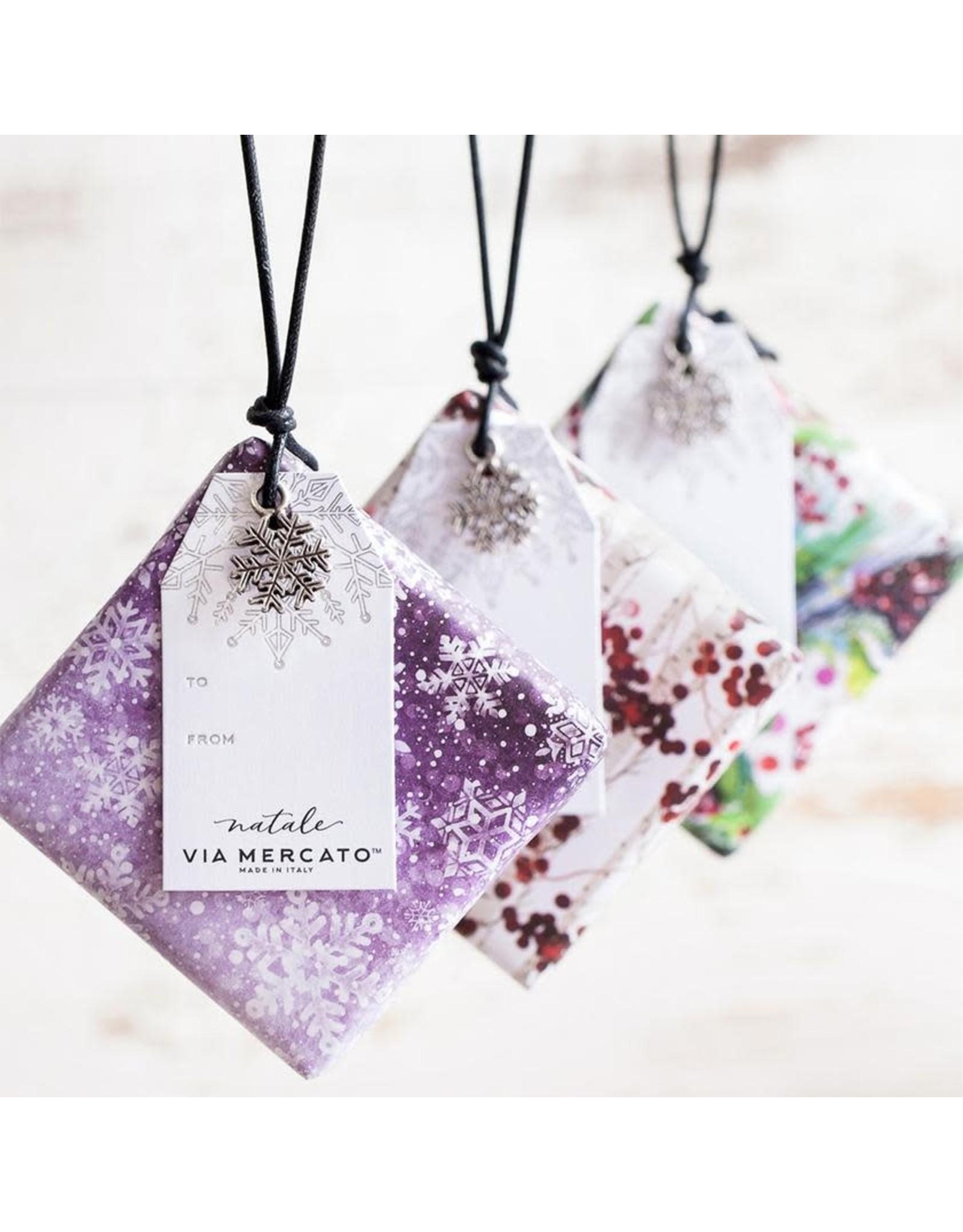 Ornament Soap Falling Snow