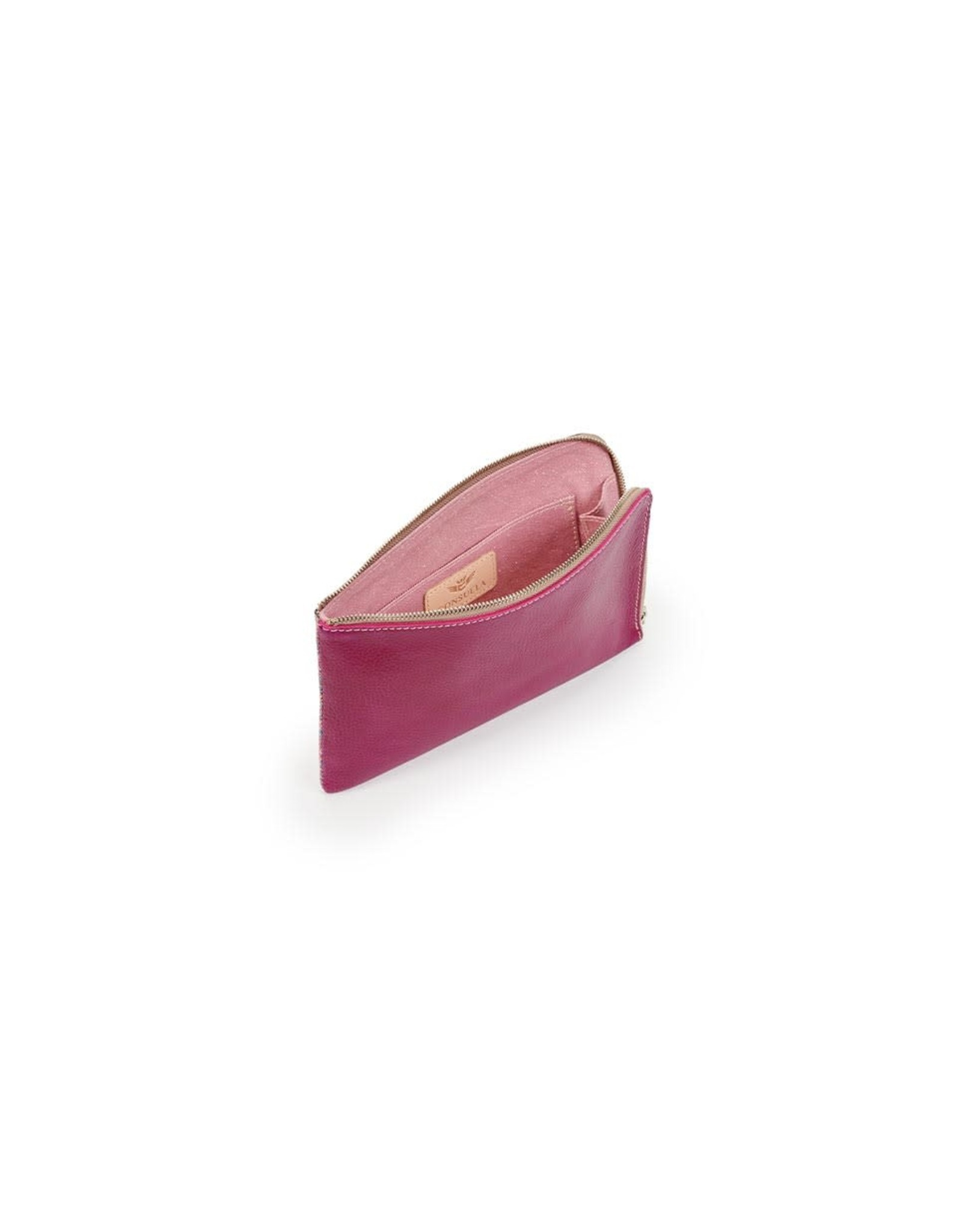 L-Shaped Clutch Raspberry Beret