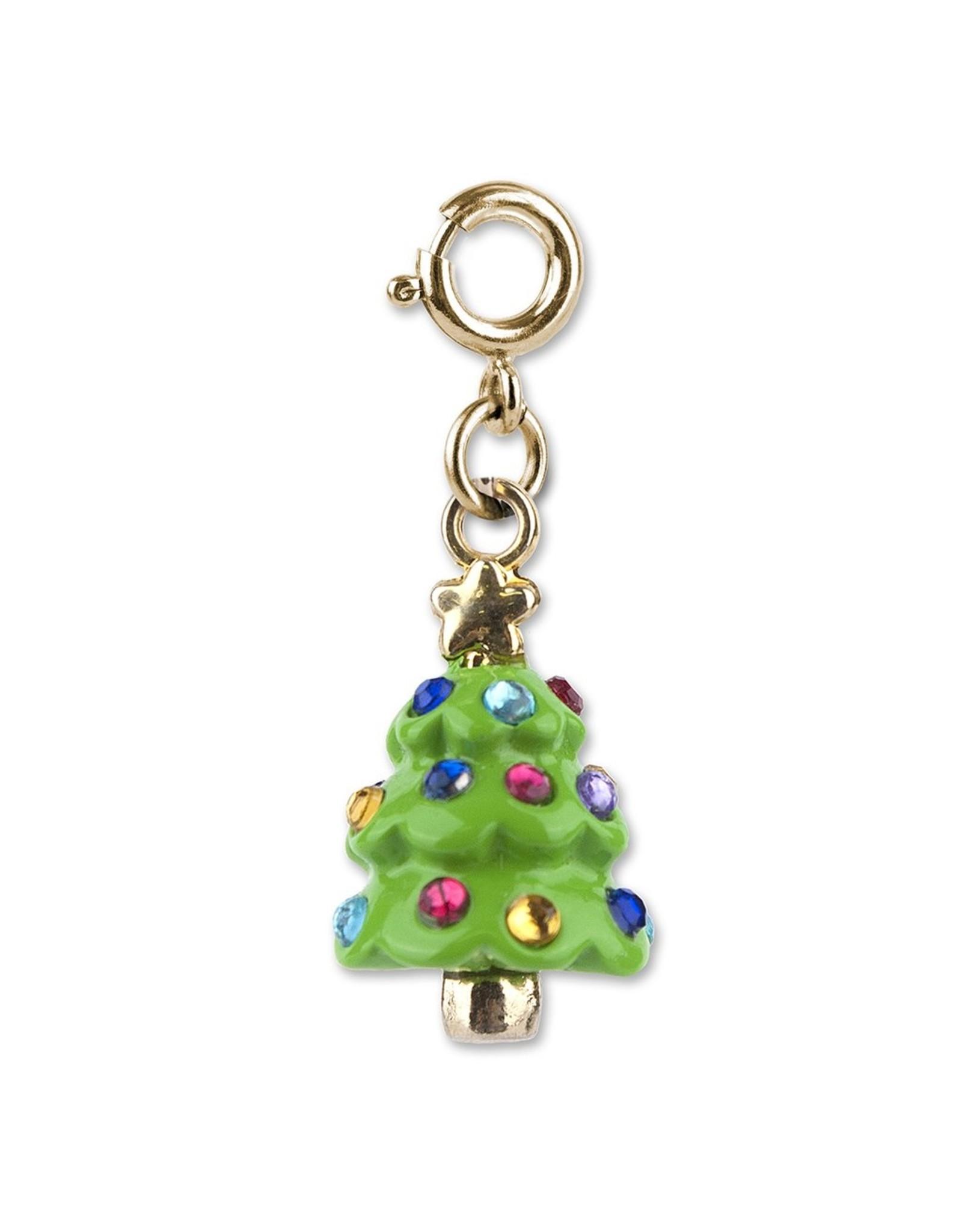 Charm-It Gold Christmas Tree