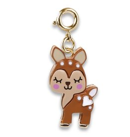 Charm-It Gold Fawn Charm
