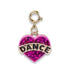 Charm-It Gold Glitter Dance