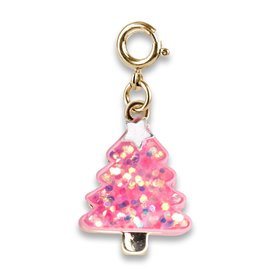 Charm-It Gold Pink Christmas Tree