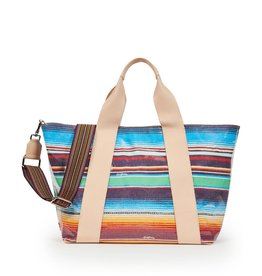 Carryall Large Deanna Canvas Stripe