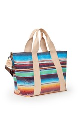 Carryall Large Deanna Canvas Stripe