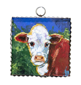 Mini Gallery Barnyard Cow Charm