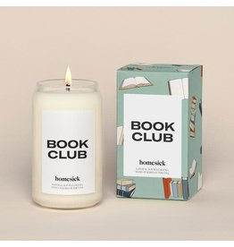 Homesick Candle Book Club