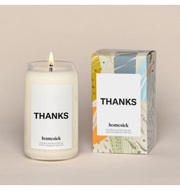 Homesick Candle Thanks