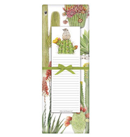 Mary Lake-Thompson Cactus Collage Dish Towel Notepad Set