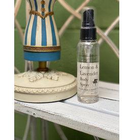 Lemon & Lavender Body Spray