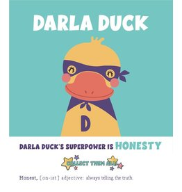 Pink Picasso Kids - Darla Duck