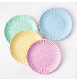 One Hundred 80 Polka Dot Melamine Plates/ set of 4
