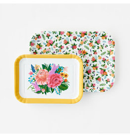 One Hundred 80 Floral Tray Set