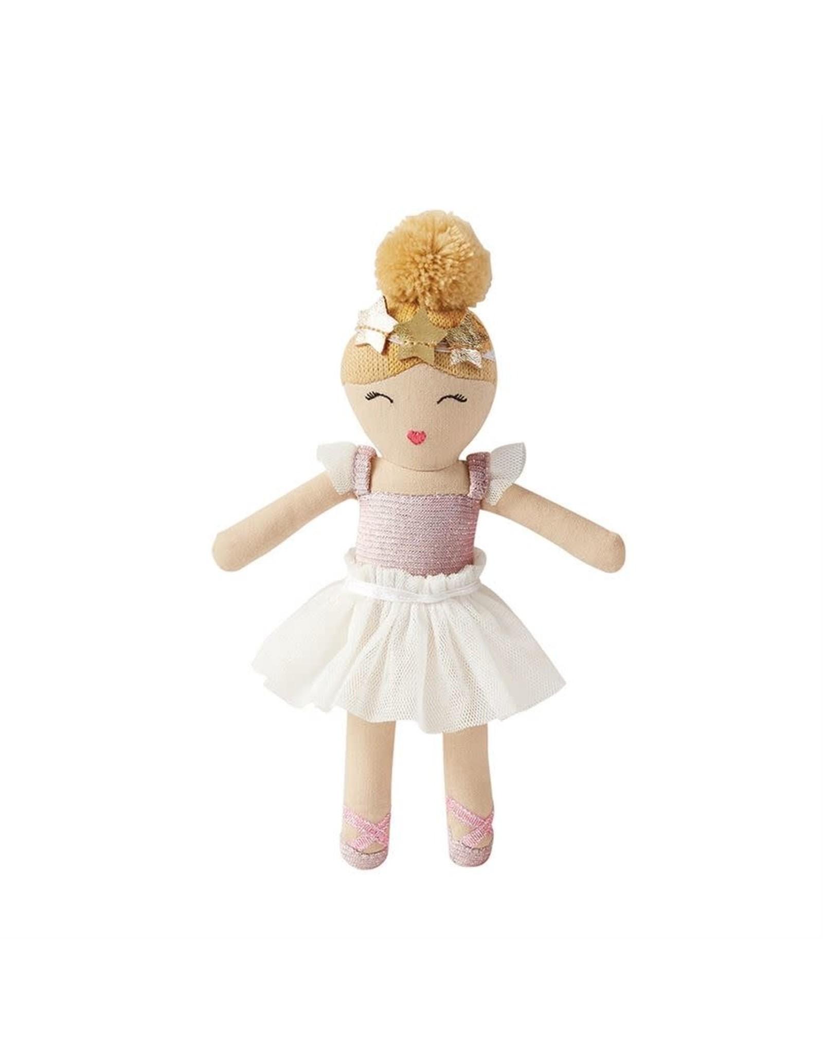 Mud Pie Mud Pie- Ballerina Baby Rattle